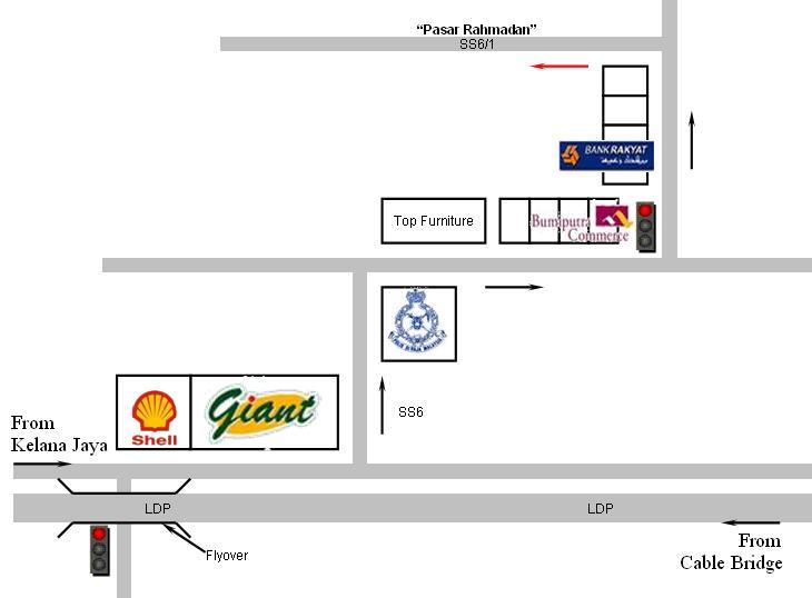 map-to-bazaar-ramadan-kelana-jaya